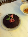 Mexican Chocolate and Chili Cake