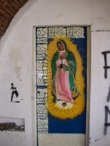 The Virgin of Gualalupe
