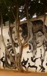 Mural de Dr Lakra, MACO, Oaxaca