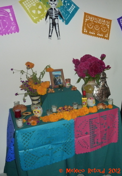 Last year's altar