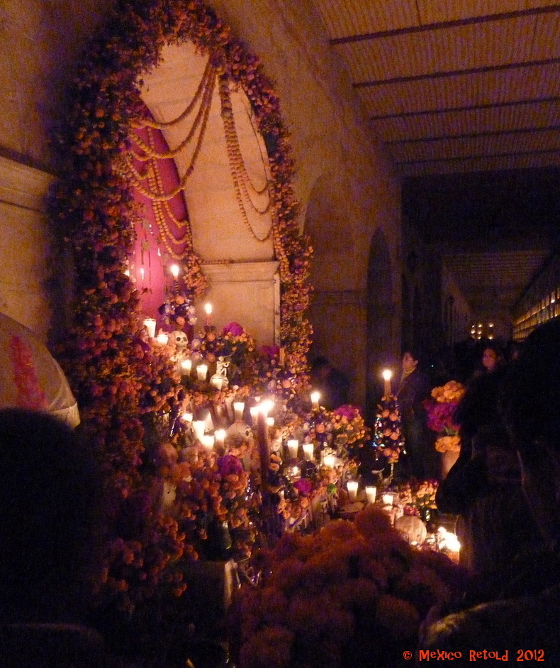 An elaborate altar