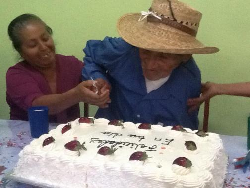 Don Francisco Cutting his Cake