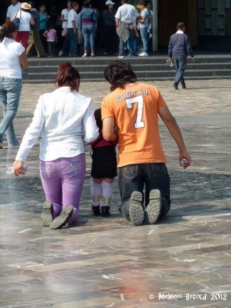 Kneeling Family