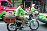 Mexican postmen travel around by motorbike. Photo courtesy of Francisco Collazo www.collazoprojects.com