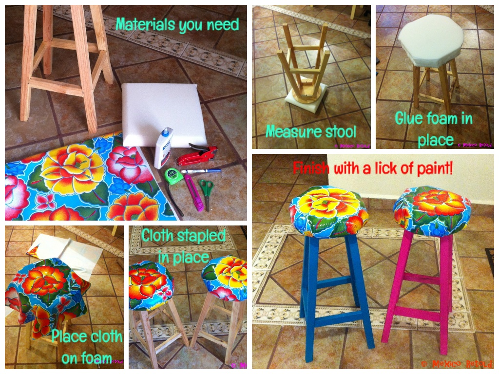 Mexicanize Your Life Bar Stools Mexico Retold