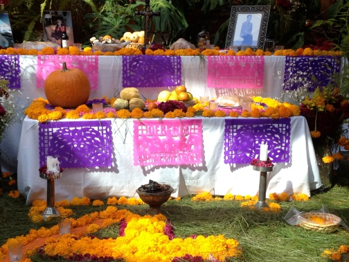 A beautifully decorated altar