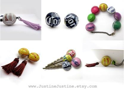 Bottle Top Jewellery