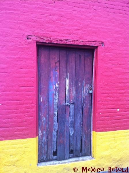 Door Pink and Yellow