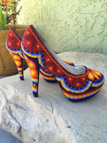 Huichol High Heels