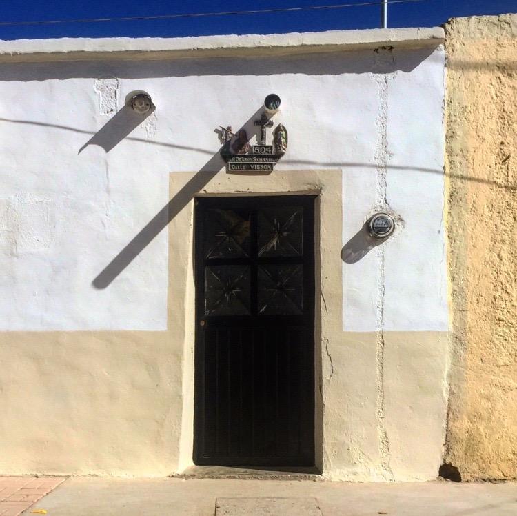 Door with shadows