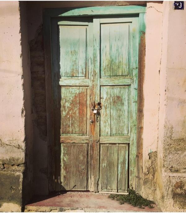 Turquoise Door 3