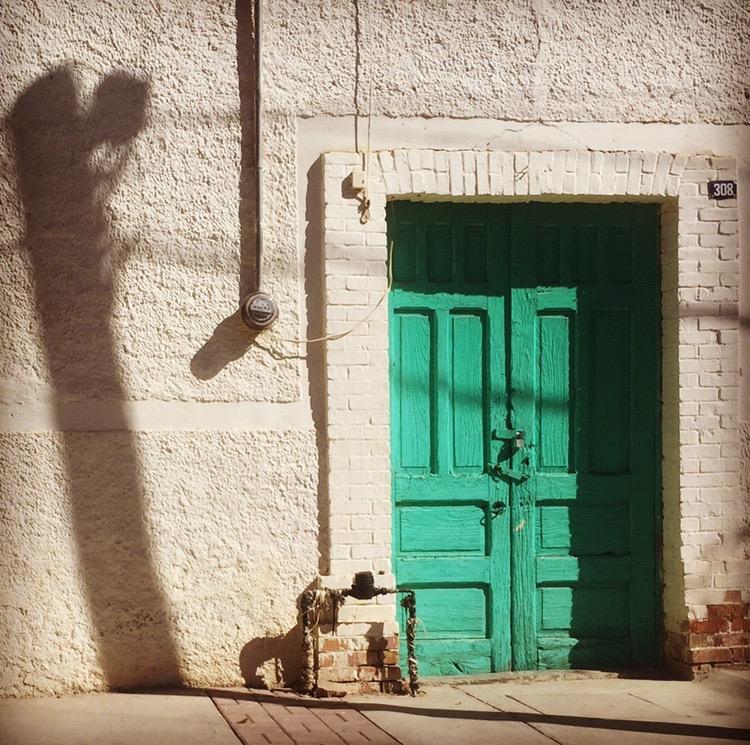 Turquoise Door 2 & Doors of Coahuila and Nuevo León | Mexico Retold